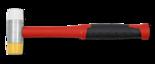 Kunststof-hamer-zacht-hard-35mm